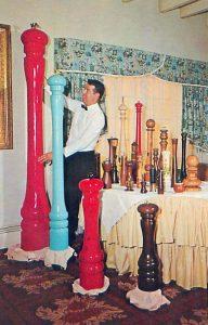Macinapepe giganti ristoranti anni 50
